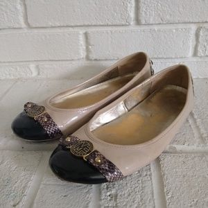 Marc Fisher Cuttie Loafer Flats Patent Leather